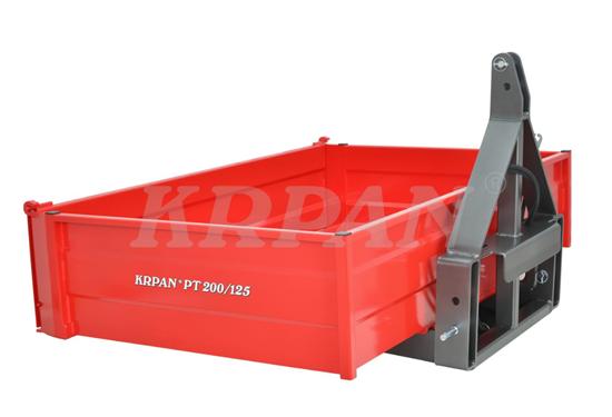 Fotografija proizvoda Traktorska platforma KRPAN PT200/125