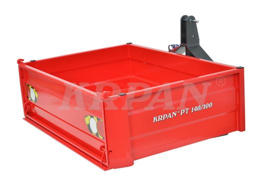 Fotografija proizvoda Traktorska platforma KRPAN PT140/100