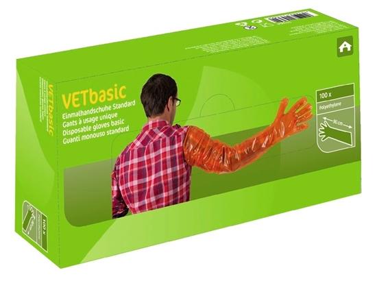 Fotografija proizvoda Jednokratne rukavice VETbasic(pak. 100 komada)