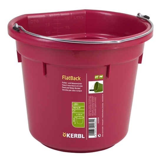Fotografija proizvoda Kanta za krmivo i vodu FlatBack 20 L