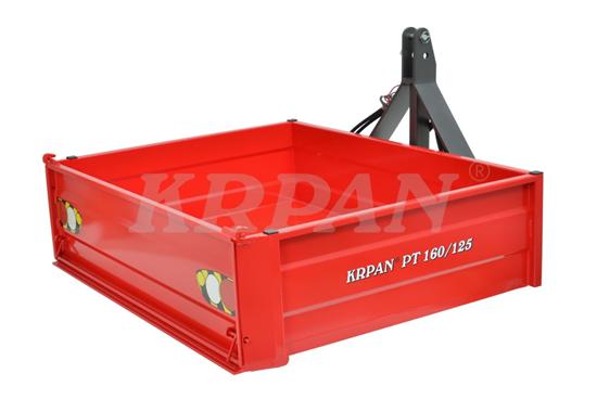 Fotografija proizvoda Traktorska platforma KRPAN PT160/125