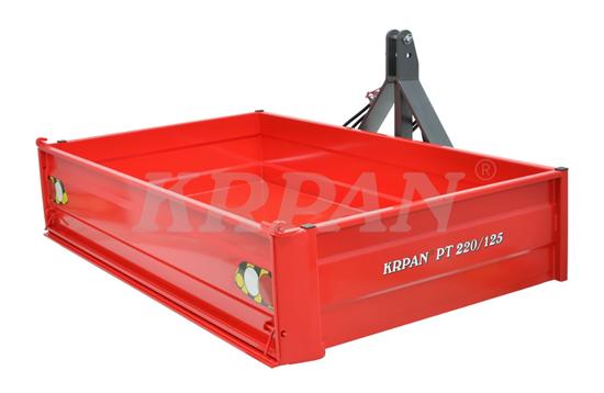 Fotografija proizvoda Traktorska platforma KRPAN PT220/125