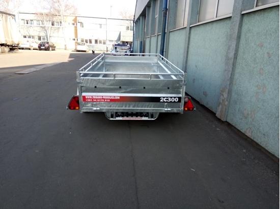 Fotografija proizvoda Auto prikolica 2C300 TRIGANO