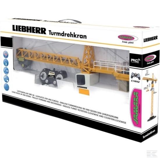 Fotografija proizvoda Igračka toranjska dizalica Liebherr  na daljinsko upravljanje