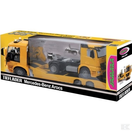 Fotografija proizvoda Igračka kamion Mercedes Arocs sa prikolicom na daljinsko upravljanje
