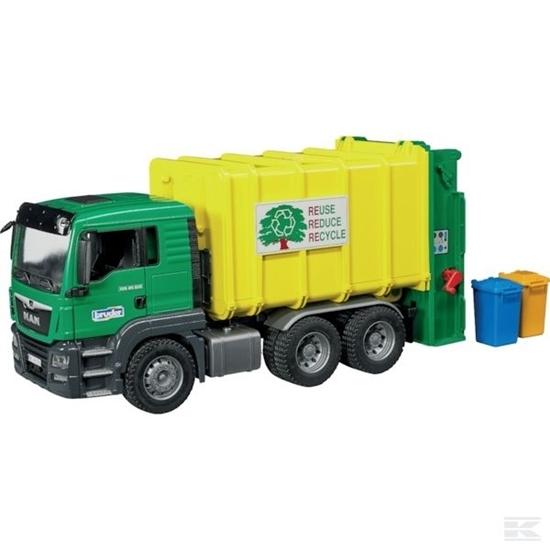 Fotografija proizvoda Igračka smetlarski kamion MAN TGS, BRUDER
