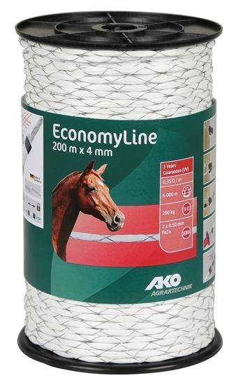 Fotografija proizvoda Uže za el. ogradu EconomyLine  200 M 4 mm