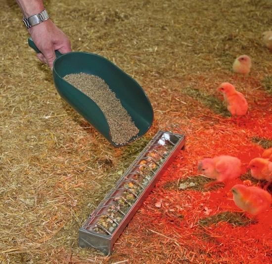 Fotografija proizvoda Plastična lopata za krmivo