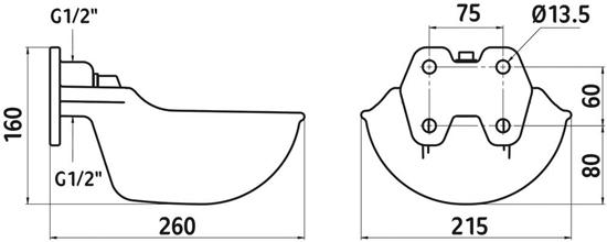 Fotografija proizvoda Pojilica  s cijevnim ventilom