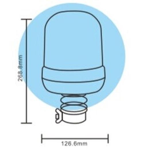 Fotografija proizvoda Rotacijsko svjetlo nasadno, gibljivo