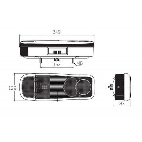 Fotografija proizvoda Stražnje svjetlo, lijevo
