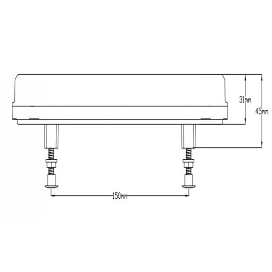 Fotografija proizvoda Kombinirano LED Stop svjetlo stražnje , desno