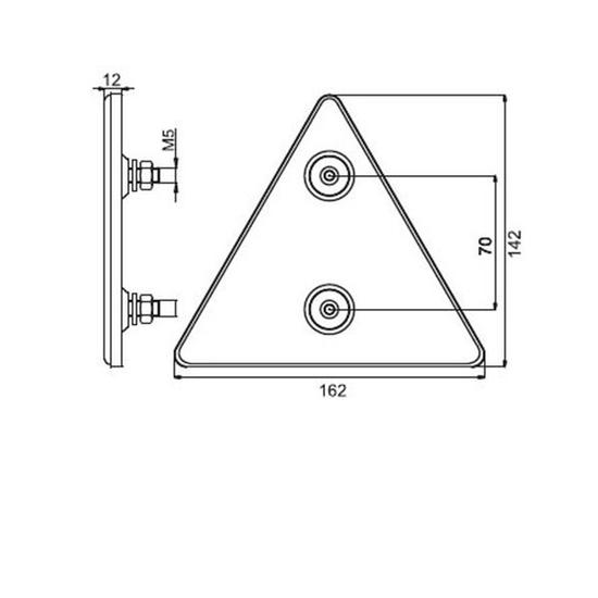 Fotografija proizvoda Reflektirajući trokut, KAMAR