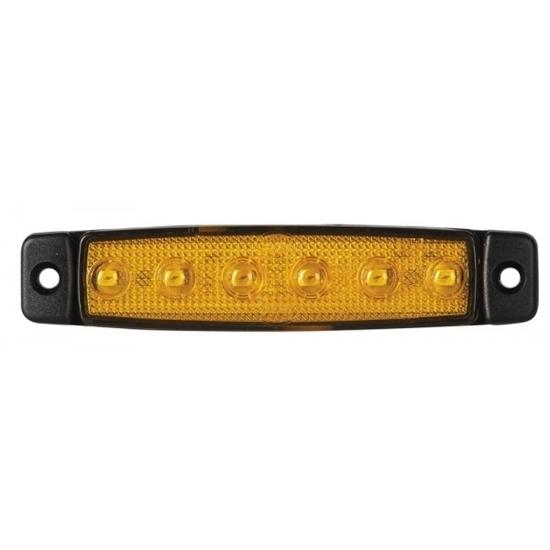Fotografija proizvoda LED bočno svjetlo, narančasto