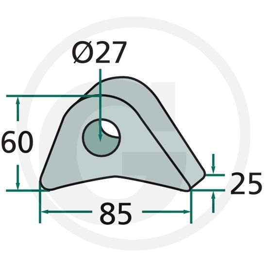 Fotografija proizvoda Oko euro kopčanja