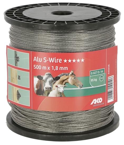 Fotografija proizvoda Žica 1,8 mm X 500 M, aluminijska