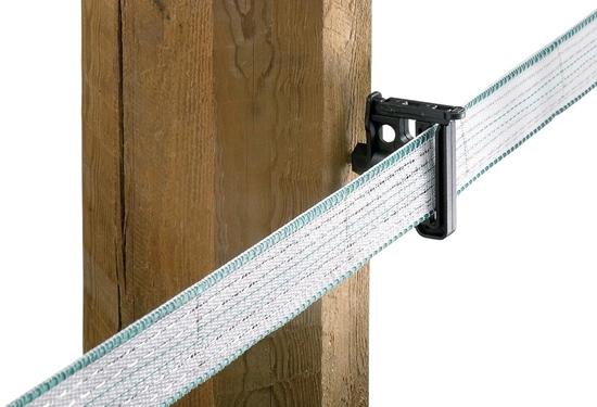 Fotografija proizvoda Izolator trake električne ograde TITAN Tape (pak 25 kom)