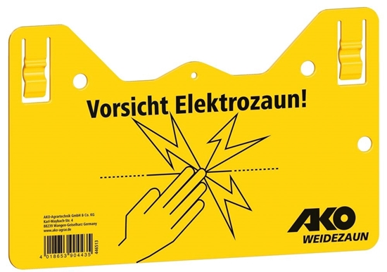 Fotografija proizvoda Znak upozorenja - Oprez Električna ograda!