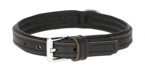 Fotografija proizvoda Ogrlica kožna Vegas 46-52 cm Crna