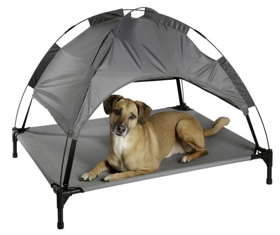 Krevetić za psa-šator 105 x 86 x 75 cm