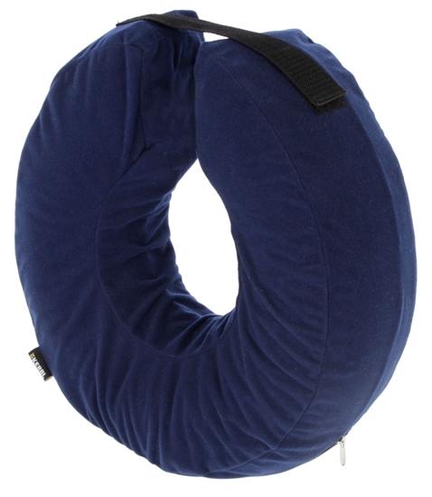 Plavi ovratnik za pse 25 - 35 cm