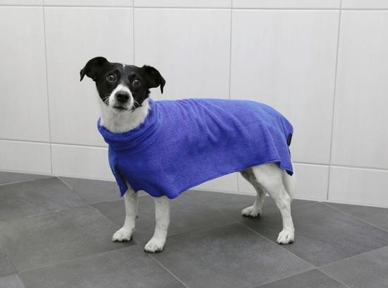 Bademantil za pse duljine 30 cm