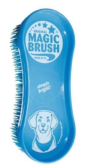 MagicBrush četka za pse nebesko plave boje