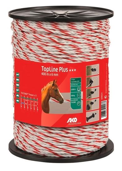 TopLine Plus uže za ogradu 200 m/6 mm