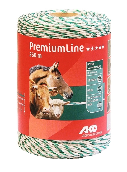 PremiumLine uže za ogradu 500 m