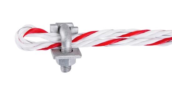 Pocinčana kutna stezaljka za užad promjera 6 - 8 mm