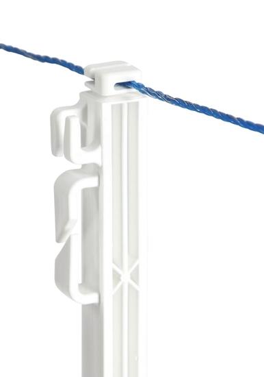Plastični stup bijeli 114.5 cm 5/1