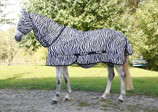 Deka za konje Zebra look 135 cm 185 cm