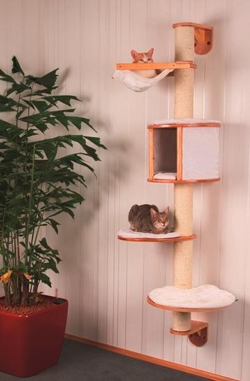 Zidna grebalica Cat Tree Dolomit visine 168 cm