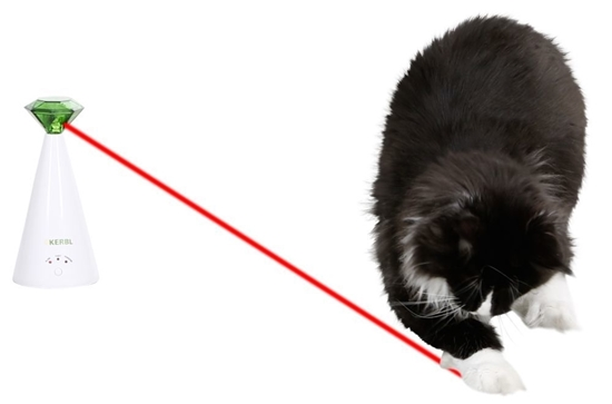 Rotirajući laser za mačke