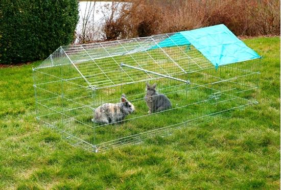 Ograda za glodavce 180 x 90 x 75 cm