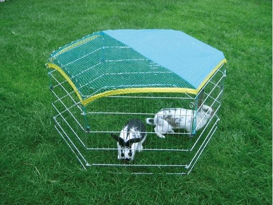 Šesterokutna ograda za glodavce