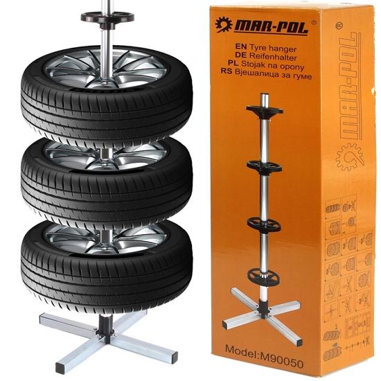 Vertikalni stalak za gume marke MAR-POL