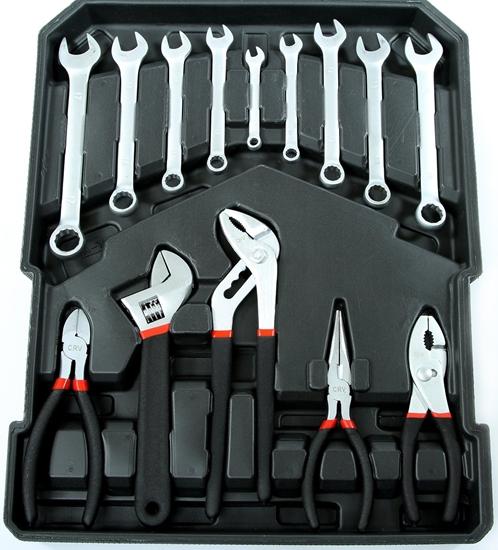 187-dijelni set alata s koferom marke MAR-POL